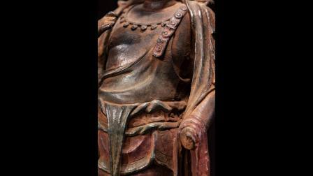 皇家安大略·金代·官造·《大势至·菩萨》文物级高古青铜像销售用视频