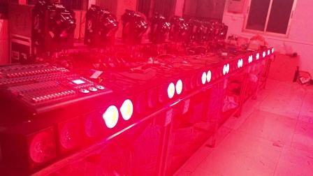 5眼LED矩阵灯 5头矩阵灯 LED染色灯
