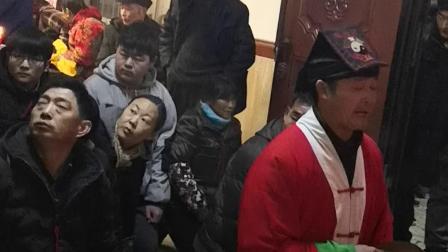 安徽东至县葛公道士做法(2)本年正月母舅老大人仙逝,此以纪念。