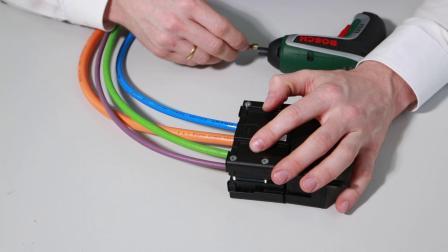 igus 模块化连接,便捷的拖链电缆装配