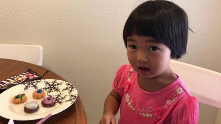 20180929爱玛4岁—装饰自己做的甜点