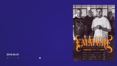 2019.04.01 (片段) Emmure 巡演 北京站