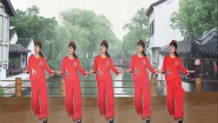 山西素梅广场舞《印度恰恰舞》