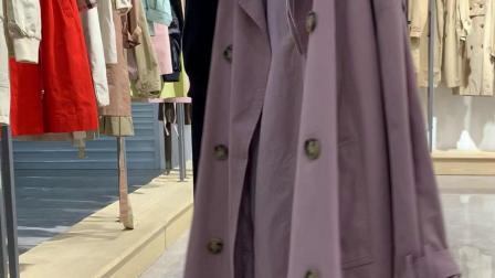 新款风衣低价跑量 品牌折扣女装 品牌女装走份批发 女装店货源