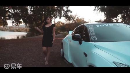 美女的这辆火箭兔套件加身的日产GT-R真酷-易车