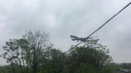 国航1509 空客A350-900降落杭州萧山国际机场