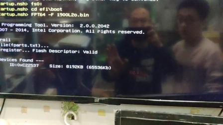 j1900主板uefi下BIOS刷来电开机2