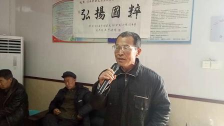刘家寨民乐剧社票友演唱京剧苏三起解选段