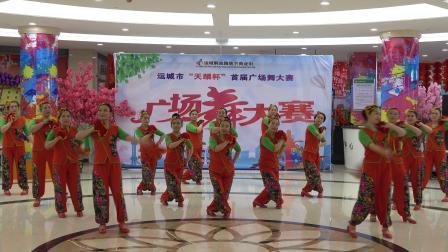 广场舞:小调情歌桃花红