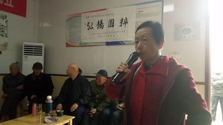 刘家寨民乐剧社票友演唱京剧春秋配选段
