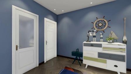 男孩卧室装修效果图-三度云享家