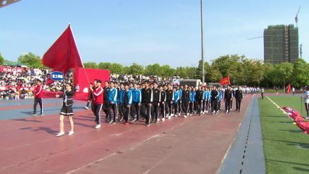 重庆大学2019年春季运动会开幕式集锦