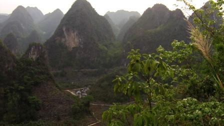 贵州黔西南兴义市则戎乡东饶风光