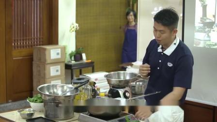 《素食教煮》第三十七集 ── 黃金素瑤柱扒豆苗