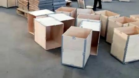 可拆卸木箱物流周转包装箱定制 钢边箱