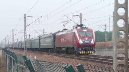 火车 客车K1163 HXD1D 25G