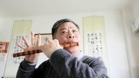 笛子演奏《青藏高原》滁州老年大学练习曲