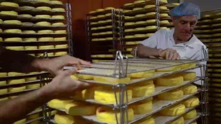 19sp215 奶油面包食品生产车间高清实拍视频素材下载微客素材网