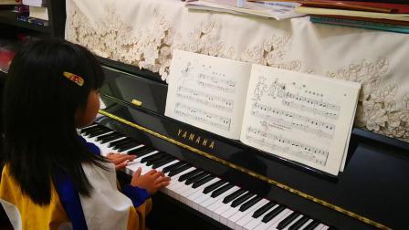 约翰.汤普森简易钢琴教程2《溜冰女孩》
