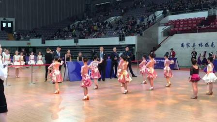 海云舞韵 国奥体中心拉丁舞比赛团体八人