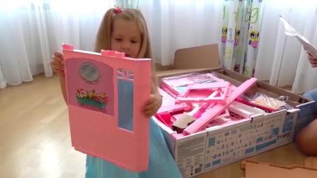 芭比娃娃和她的房子1萌宝乐源