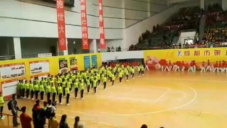 成都老年运动会华川社区表演队