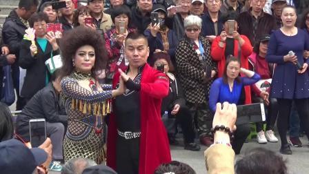 天津反串演员斯斯在北宁公园精彩舞蹈欣赏系列(之二)