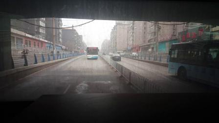 沈阳166路公交车~滑翔三小区