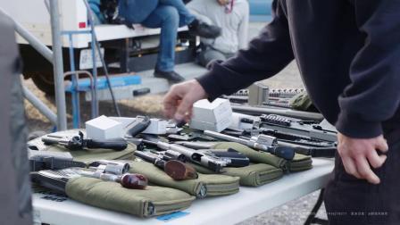 【醉清风制作】459个枪口火焰闪光烟雾图片视频4K素材rocketstock-Ricochet