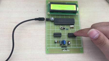 基于单片机的简易频率计设计