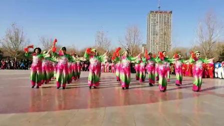 广场舞《红红的日子》