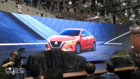 第14代日产轩逸在2019上海国际汽车工业博览会