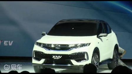 东风本田X-NV概念车亮相2019上海车展