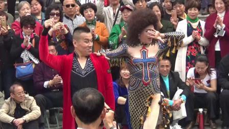 天津反串演员北宁公园精彩舞蹈欣赏系列(之三吉特巴)