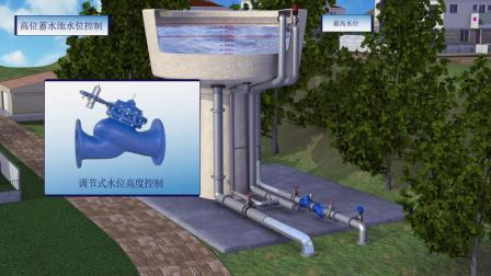 高位蓄水池液位控制-Elevated Reservoir Level Control
