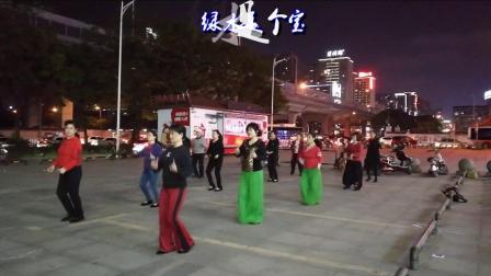 雪冰青春活力广场原创舞《山笑水笑人欢笑》团队版