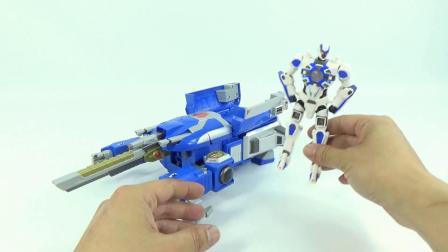 超星战舰变形金刚组装超星神机器人