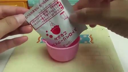 趣味食玩制作DIY迷你西瓜冰淇淋