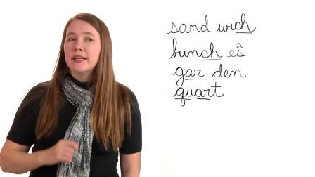 美国小学英语教师教学培训课程Spelling List 6