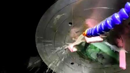 翡翠原石切割工具介绍-升海数控玉石砂线切割机切割案例