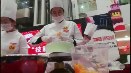 """2019年寿光市""""技能兴寿""""第二届西式面点师暨创意烘焙职业技能大赛"""