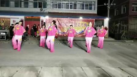 潍坊市寒亭区开元街道小辛庄扇子舞(红红的大中国)
