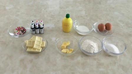烤箱自制蛋糕简单做法 怎样做土司面包 小蛋糕的做法