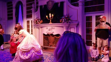 Enchanted Tales with Belle (full, live show) Magic Kingdom, Disney World Orlando