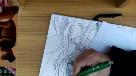 手绘《未来日记》我妻由乃