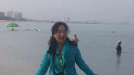 2019年1月29日在海南东方市鱼鳞洲风景区海滩