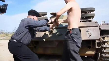 启动装甲车