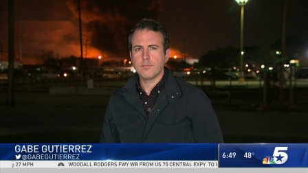 Petrochemical Plant Fire Near Houston Intensifies Overnight -1