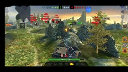 JC 坦克世界闪击战 四运,介于幸运与悲运之间