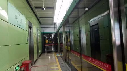 广州地铁8号线 A2 2X85-86 晓港出站
